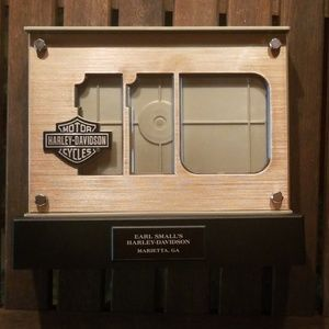NIB Harley-Davidson HD picture frame lights up